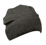 Hat isolated on white background .knitted hat .gray hat Stock Photos