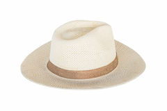 Hat on isolated white . Stock Image