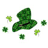 Hat of leprekon Royalty Free Stock Images