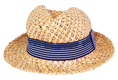 Hat made from nature material Royalty Free Stock Images