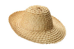 Hat made of palm leaves Stock Image