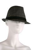 Hat on a mannequin Royalty Free Stock Images