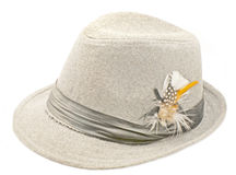 Hat for men Royalty Free Stock Photography