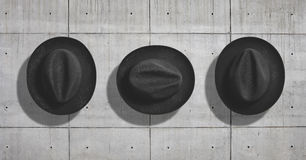 Hat mockup set Royalty Free Stock Images