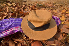 A hat and multipurpose clothes Royalty Free Stock Image