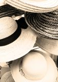 Hat Off To You. Hat display at the fishing Pier in Florida stock images