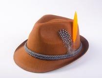 hat or oktoberfest bavarian hat on a background. Royalty Free Stock Photos