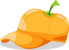 Hat orange fantasy party vector Stock Photo
