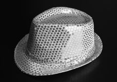 Hat with payettes Stock Photos