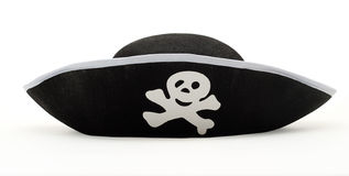 Hat pirate isolated Royalty Free Stock Photo