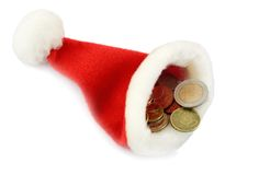 Hat santa Stock Photography