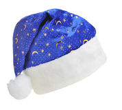 Hat Santa with ornament night sky Stock Photography
