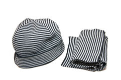 Hat and scarf stock photo
