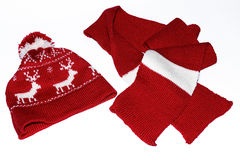 Hat, scarf Stock Photos