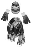 Hat, scarf and gloves Stock Photography