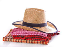 Hat and scarfs Royalty Free Stock Photo
