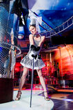 hat sexy showgirl top Στοκ εικόνες με δικαίωμα ελεύθερης χρήσης