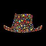 Hat shape Royalty Free Stock Image
