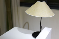 Hat shaped table lamp Royalty Free Stock Images