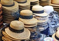 Hat shop Stock Images