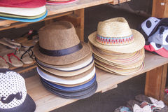 Hat shop Stock Photography
