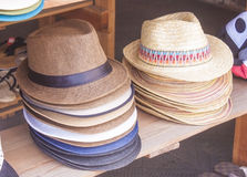 Hat shop Royalty Free Stock Image
