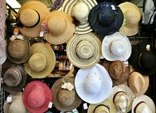 Hat shop in Italy Royalty Free Stock Photo