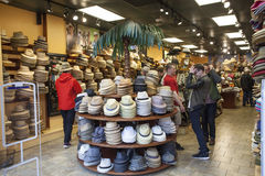 Hat shop in New Orleans, Louisiana Stock Photography