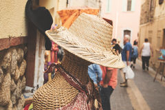 Hat shop Royalty Free Stock Photo