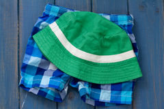 Hat with shorts Royalty Free Stock Photo