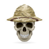 Hat skull Stock Photography