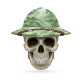 Hat skull Royalty Free Stock Photography
