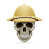 Hat skull Royalty Free Stock Image