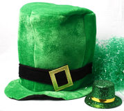 A hat for St Patricks Day. An image showing the concept of St Patricks Day with hats Royalty Free Stock Photos