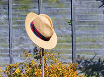 Hat on a stick. Royalty Free Stock Images