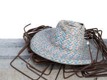 Hat and Stirrup steel Stock Image