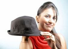 Hat style Stock Photography