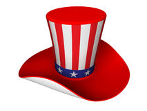 Hat to Uncle Sam Stock Image