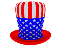 Hat of the uncle sam Stock Photo