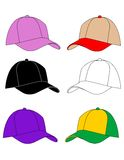 Hat vector illustration. On white Royalty Free Stock Photo