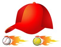 Hat vector illustration Stock Photos