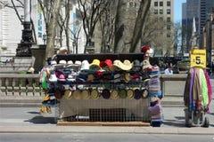 Hat Vendor Stock Image
