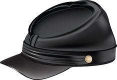 Hat with visor Stock Images