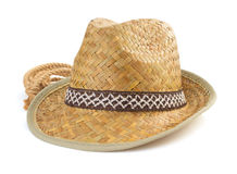 Hat  on white background Royalty Free Stock Photography