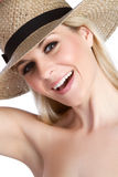 Hat Woman Royalty Free Stock Photo