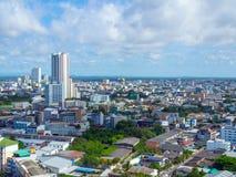Hat Yai cityscape arkivfoton