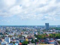 Hat Yai cityscape arkivbild
