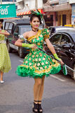 Hat Yai Loyalty Parade Royalty Free Stock Photography