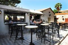 Hatachana - Nowy Stary dworca kompleks w Tel Aviv zdjęcie royalty free
