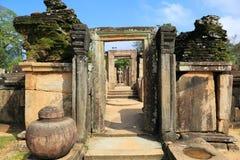 Hatadage, Polonnaruwa en Sri Lanka Fotografía de archivo libre de regalías
